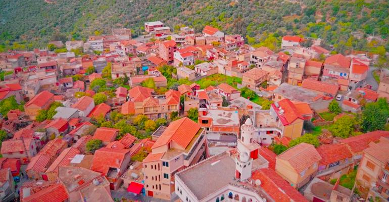 قرى جزائرية قبائل تيزي وزو قرية الساحل
