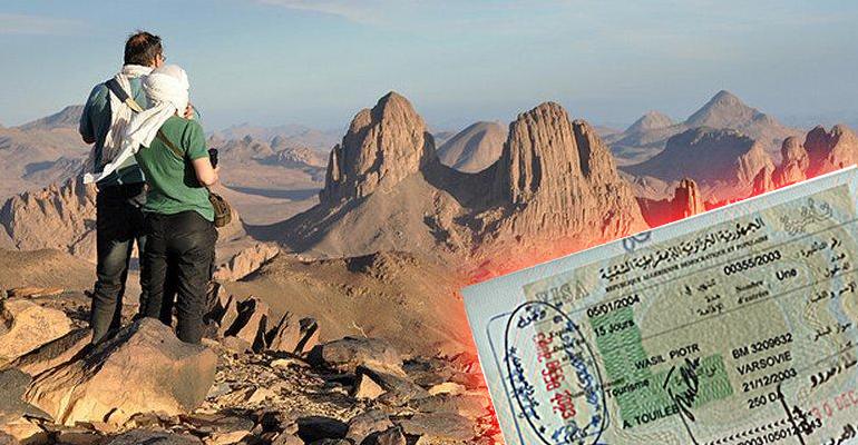 صورة ارتفاع عدد السياح الأجانب لزيارة الصحراء الجزائرية