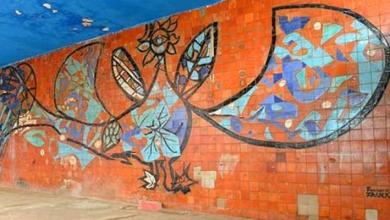 Photo of اكتشاف جدارية عملاقة للرسام البلجيكي فرنسوا فوك في وهران بعد 70 سنة من انجازها