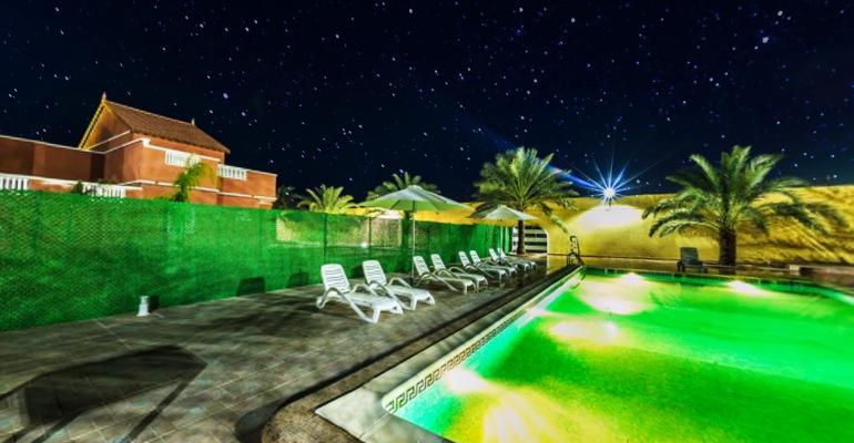 صورة غرداية وجهة سياحية مثالية لعشاق الحمامات المعذنية