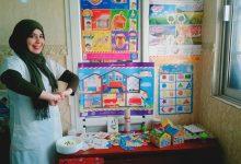 Photo of نسرين شابة جزائرية كرست وقتها لمساعدة أطفال صعوبات التعلم
