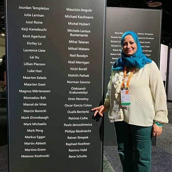وفاء بن تركي حصلت على لقب مدير إقليمي بشركة مايكروسوفت