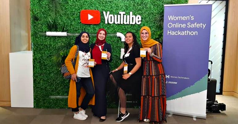 شابات جزائريات تحصلن على المركز الأول في مسابقة جوجل لسلامة النساء على الانترنت