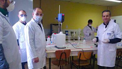 Photo of إنشاء مختبر لفحص فيروس كورونا في كلية الطب بجامعة مولود معمري في تيزي وزو