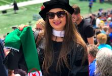 Photo of سوسن شدادي باحثة جزائرية تألقت في الدراسات الأكاديمية بأمريكا