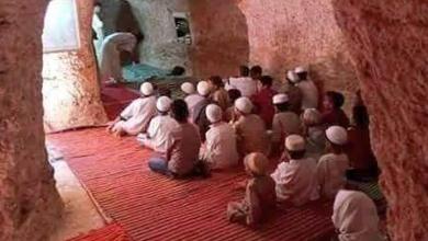"""Photo of """"مسجد الموحدين """" بني تحت الأرض بولاية البيض في الجزائر"""