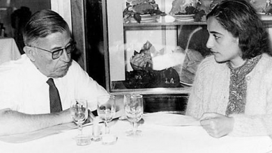 Photo of ابنة و وريثة الفيلسوف الشهير جون بول سارتر ولدت ونشأت في قسنطينة شرق الجزائر