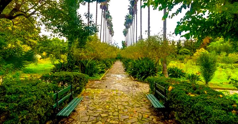 حديقة جامعية في الجزائر نسخة مصغرة عن حديقة التجارب