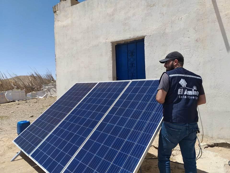 جهاز تعقيم بالطاقة الشمسية