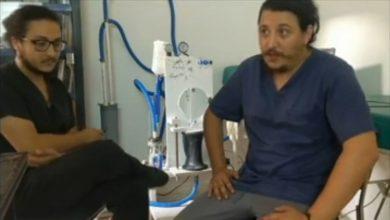 صورة أخوان جزائريان يصممان جهاز تنفس إصطناعي ذكي