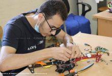 صورة طالب جزائري يصمم طائرات درون للحد من حرائق الغابات