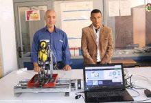 صورة طالب جزائري يبتكر آلة تلحيم صديقة البيئة