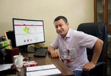 صورة باحث جزائري عضو بالجمعية اليابانية في الفيزياء التطبيقية